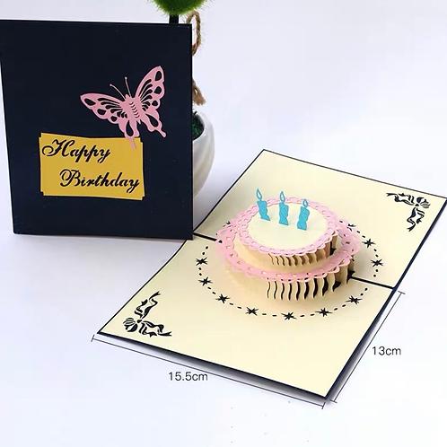 Birthday cake(blue cover)
