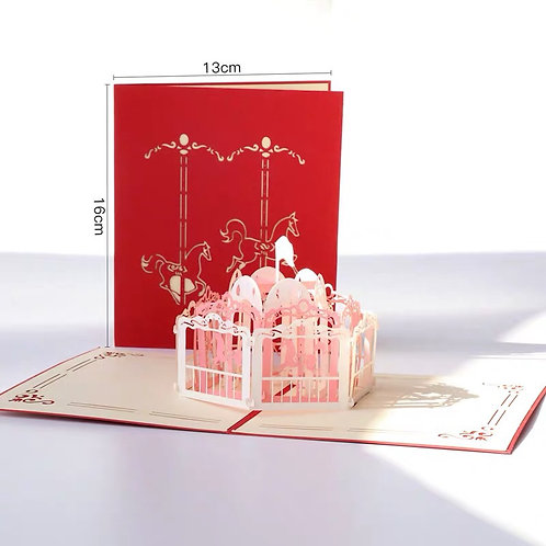 Merry-go-round red cover