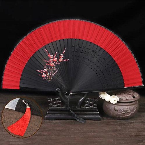 Elegant Fan - Red