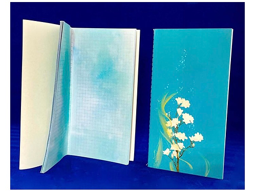 Craft notebook - Turquoise