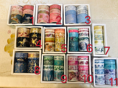 Washi tape smaller set
