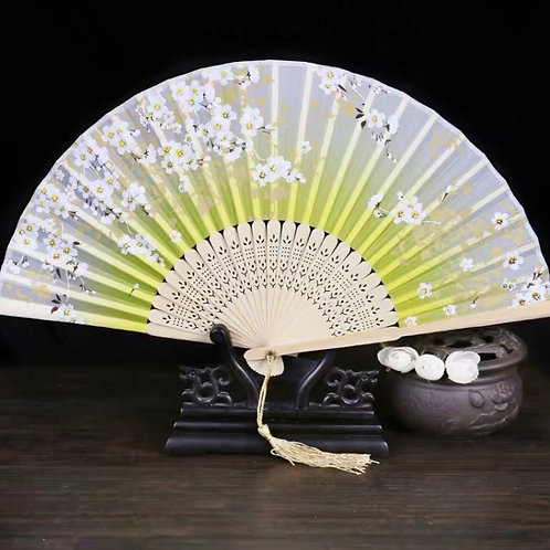 Elegant Fan - Yellow
