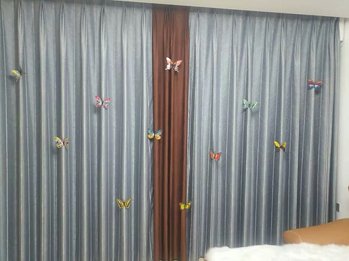 Butterfly Curtain pins