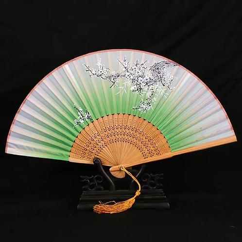 Elegant Fan - Green style 2