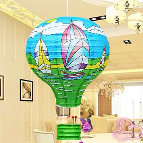 C&C Cartoon hot air balloons (3 designs)