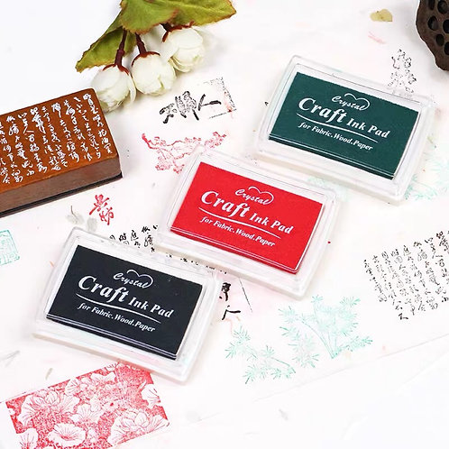 Stamp ink (3 colour to choose)