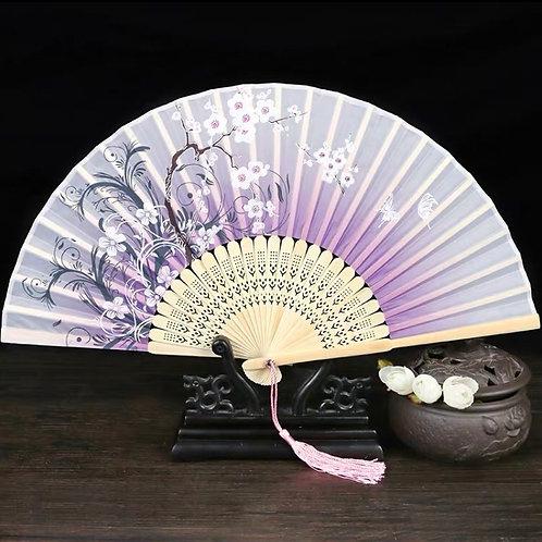 Elegant Fan - Purple style 3