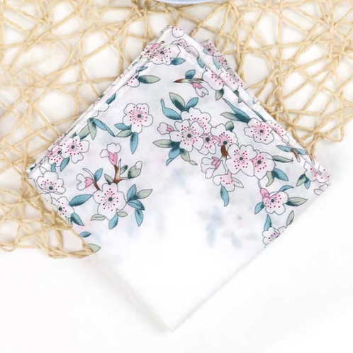 Cotton Handkerchief (White)