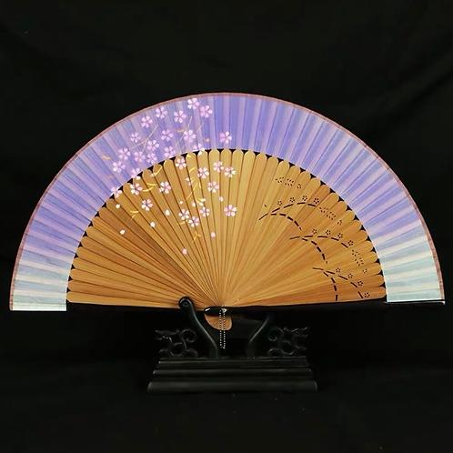 Elegant Fan - Purple