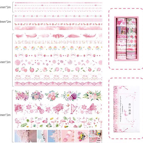 Washi tape set - style 17