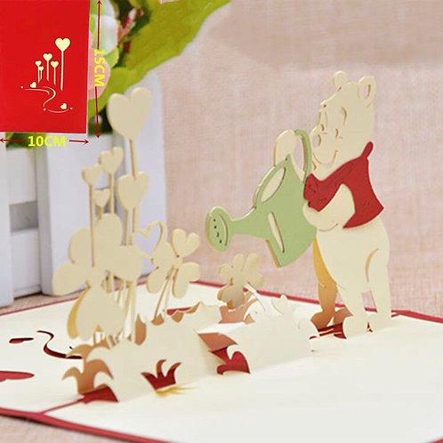 Winnie the Pooh pop up cards