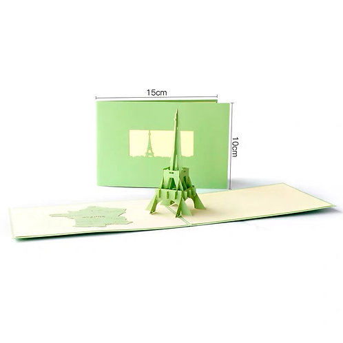 Eiffel Tower (Green)