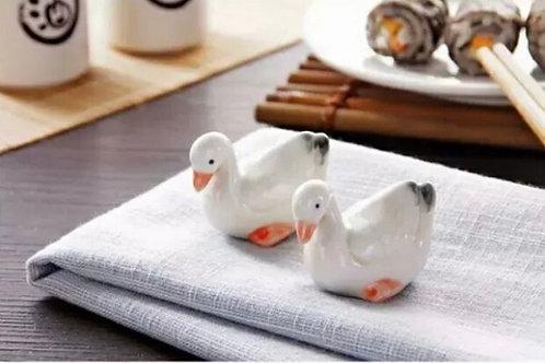 Goose Chopsticks rests & holder