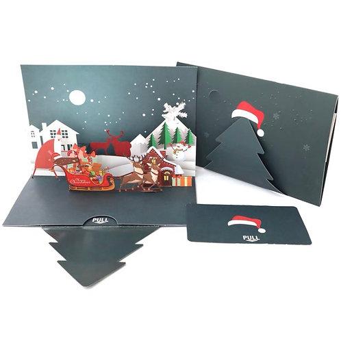Christmas Eve pop up card