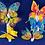 Thumbnail: Big butterfly Fridge magnets