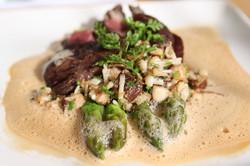 Seared British Columbia Hanger Steak
