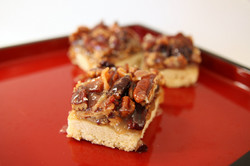 Bacon Salted Caramel Pecan Bars