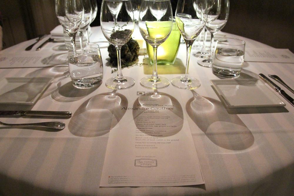 Alexandre Gauthier 2011 - dinner setting.jpg
