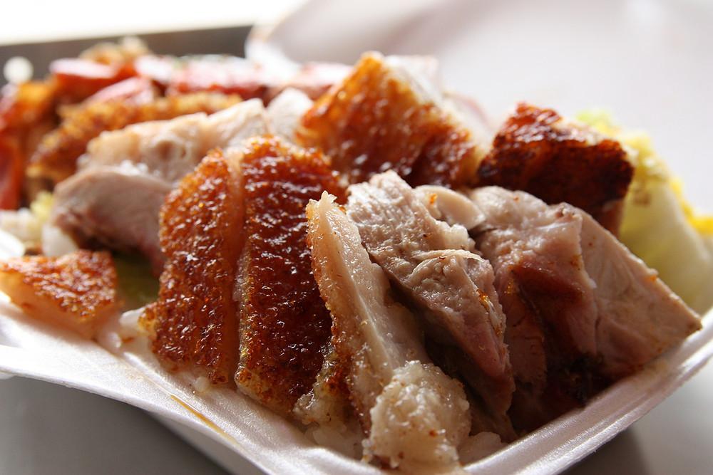 Ho Ho BBQ's roast pork