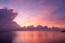Sunrise over the Gulf of Thailand