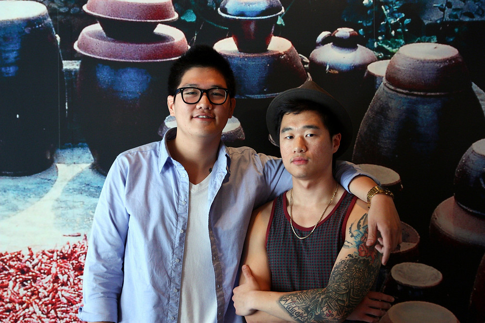 The Han Brothers in June 2009 at Swish by Han