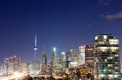Toronto's Evening Skyline