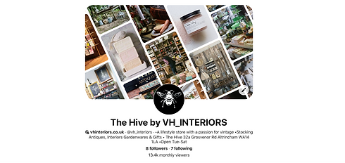 The Hive by VH Interiors Pinterest page