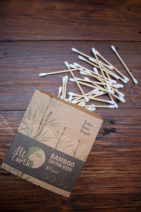 Bamboo cotton buds x 200 per pack
