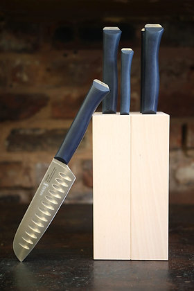 Opinel 5 Piece Intempora Set with Knife Block