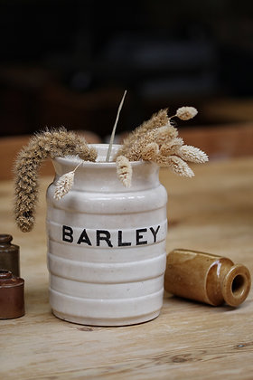 Edwardian barley pot