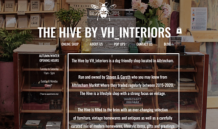 The Hive by VH Interiors website