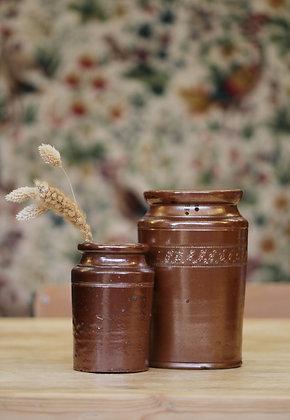 Antique earthenware jars (2 styles)