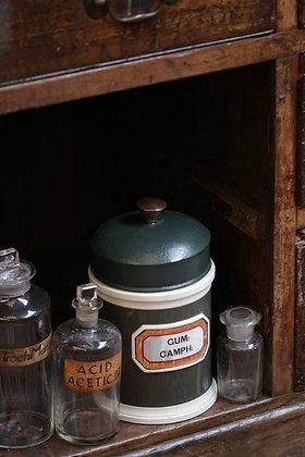 Antique chemists jar