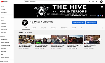 The Hive by VH Interiors YouTube channel