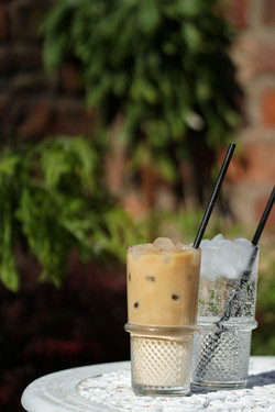 Iced espresso drinks