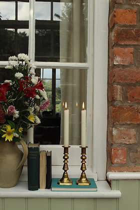 Brass candle stick holders (No7)