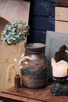 Vintage Wooden Vases / pots