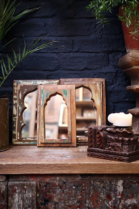 Reclaimed Indian Mirrors