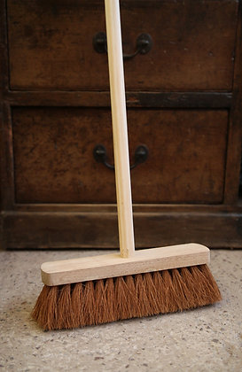 Natural yard broom