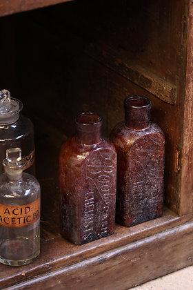 Antique Boots chemist bottle