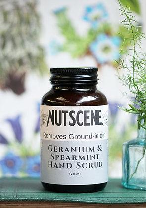 Natural hand scrub