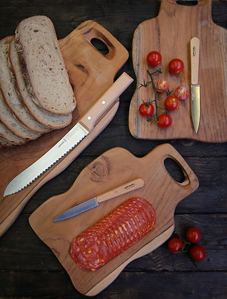 Teak wood serving platter