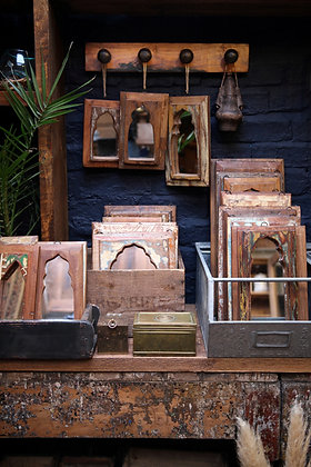 Reclaimed Indian Mirrors (Small)