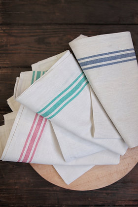 Traditional cotton tea towels