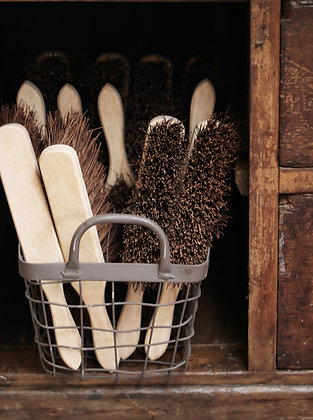 Wooden hand brush