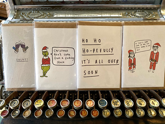 Pack of 12 Christmas cards!