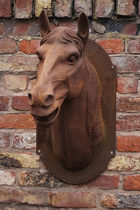 Large horse head mount