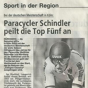 Paracycler Schindler peilt die Top Fünf an