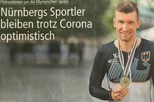 Nürnbergs Sportler bleiben trotz Corona optimistisch
