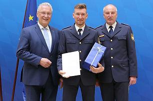 Spitzensportler bei der Bayerischen Polizei: Matthias Schindler